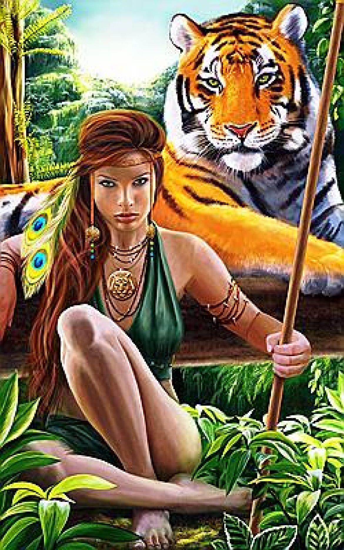 Секс древних людей в амазонках