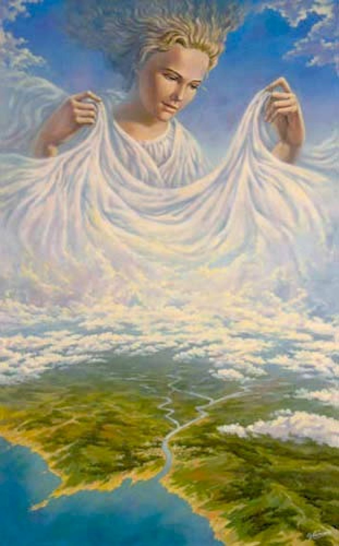 Богиня Мать Всего Сущего о себе