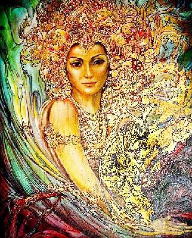 Богиня сексуальной энергий
